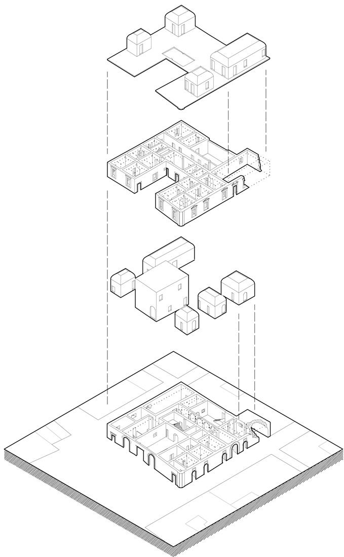 Wiederbelebung einer Ruinenstadt